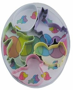 R&M International Easter Cookie Cutter Set Gift Set - Easter ideas / kitchen tools & gadgets