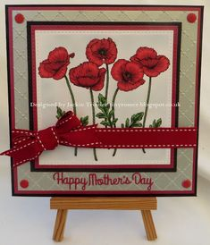 Tinyrose's Craft Room: Crafty Catz challenge 404 Anything Goes made with the Poppy set from Beccy's Place