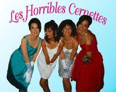 Esta é a primeira imagem publicada na Internet  Las Horribles Cernettes.