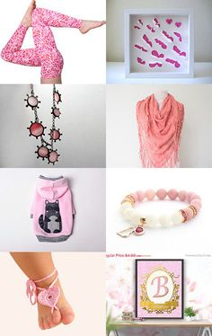 Pink by Nilgun on Etsy--Pinned with TreasuryPin.com