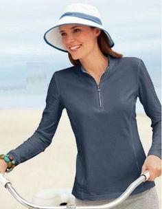 Coolibar Women's Wide Brim Summer Sun Hats