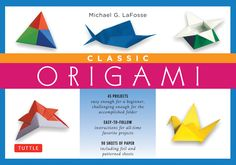 The Classic Origami Kit Is Perfect For Learning Traditional Designs As Well A Few