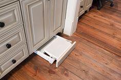 Habersham - kitchen - atlanta - Cabinet Resources  What a great idea!