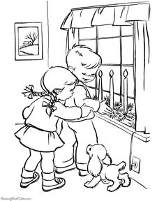 Christmas coloring pages provide hours of Christmas trees, candles, a snowman and reindeer are just a few of the many coloring sheets and pictures in this section. Dog Coloring Page, Cool Coloring Pages, Christmas Coloring Pages, Animal Coloring Pages, Free Printable Coloring Pages, Adult Coloring Pages, Coloring Sheets, Coloring Books, Children Sketch