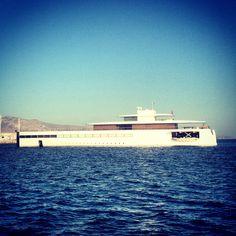 Steve jobs's yacht Venus !