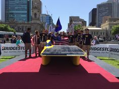 """""""The arrive in in place, a stellar effort from the team! Solar Car, Applied Science, Ping Pong Table, Effort, Congratulations, Challenges, World, Places, The World"""