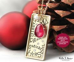 Personalized Jewelry from Elisa Ilana #LoveHeatherMoore