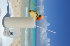 """Share"" The biggest Piña Colada #Drink in #RivieraMaya"