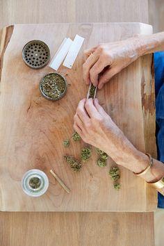 Stock photo of Senior woman's hands rolling a medical marijuana joint by trinettereed Medical Marijuana, Cannabis, Mental Health Art, Hippie Vibes, Smoking Accessories, Smoking Weed, Medicinal Plants, Hot, Ganja