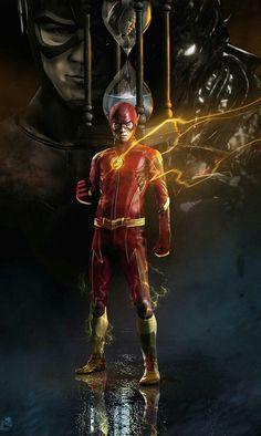 The Flash By Bosslogic O Flash, Flash Art, Flash Comics, Marvel Dc Comics, Batwoman, Flash Characters, Flash Tv Series, Flash Wallpaper, Flash Barry Allen