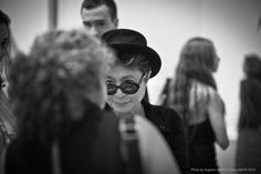 Yoko Ono at new collection opening at MOMA, New York by Eugene Nikiforov, via 500px