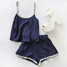Fashion Lace Sling Two-Piece