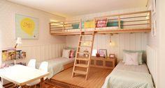 Um quarto para duas irmãs - nara maitre   design e estampas