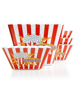 Espana Serveware, 5 Piece Popcorn Set