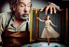Tim Burton and Amy Adams bring Hans Christian Andersen's The Red Shoes to life in Vogue (2014)