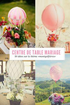 """Centres de table pour un mariage sur le thème """"voyages"""" - des idées magnifiques et romantiques"""