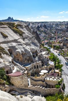 Cave Hotels, Cappadocia, Turkey - Cappadocia offers visitors the unique opportunity to spend the night in a luxurious cave hotel. It's definitely an experience worth adding to your Bucket List!