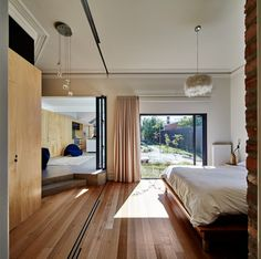 The interior of the main body of the house has been renovated too, and now includes two be...