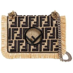 Fendi Women Small Kan I Leather Shoulder Bag (£2,030) ❤ liked on Polyvore featuring bags, handbags, shoulder bags, black, genuine leather purse, fendi handbags, leather fringe handbags, fringe handbag and genuine leather handbags - Sale! Up to 75% OFF! Shop at Stylizio for women's and men's designer handbags, luxury sunglasses, watches, jewelry, purses, wallets, clothes, underwear & more!