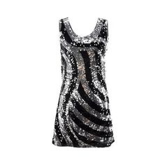 Sparkling Masquerade Dress ($100) ❤ liked on Polyvore