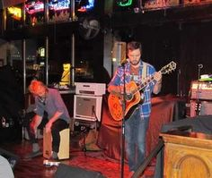 Josh Davis and Will Locker of Bright Giant perform.  #Rock #bands #music #acoustic #concerts #folk #musicians