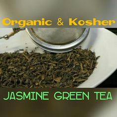 Our Daily Tea: Jasmine Green Tea!! Both Kosher and Organic green tea with jasmine petals. Try in shop (5/11/16) order http://lifethymebotanicals.com/shop/tea/jasmine-green-tea/ #samples #jasmine #greentea #organic #kosher #shopsmall