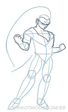 Dbz Drawings, Pencil Art Drawings, Animal Drawings, Drawing Sketches, Dragon Ball Z, Goku Super Saiyan, Manga Anime, Anime Art, Anatomy Sketches