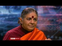 BBC HARDtalk - Vandana Shiva - Environmental Campaigner (19/11/12) - YouTube