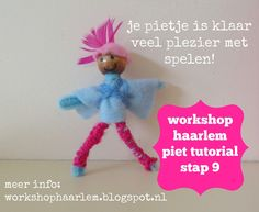 Workshop Haarlem - maak je eigen pietje tutorial