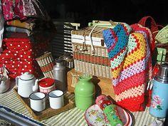 Pretty granny blanket for the garden