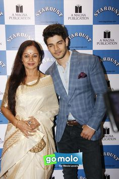 Zarina Wahab & Sooraj Pancholi at the Launch of 'Stardust' magazine in Mumbai