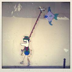 street art dudus paris 5 [Galerie] Toctoc street artiste et illustrateur