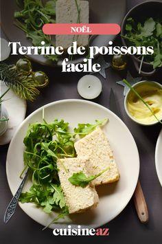Une recette facile de terrine de poissons qui sera parfaite comme entrée froide à Noël ! #recette#cuisine#terrine#poisson #entree #noel#fete#findannee #fetesdefindannee