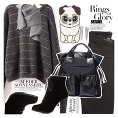 """""""Shades of Grey"""" by vanjazivadinovic ❤ liked on Polyvore featuring Citizens of Humanity, Charlotte Russe, Tiffany & Co., Acne Studios, polyvoreeditorial and zaful"""