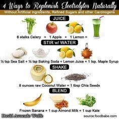 Rainbow Gospel Radio | 4 Ways to Replenish Electrolytes Naturally