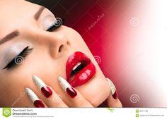 Fashion Beauty Model Girl