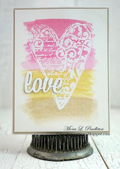 Love  designed by Mona Pendleton