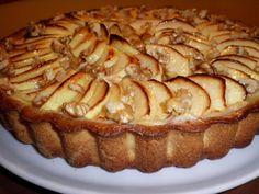 Tarta de manzana con crema pastelera - Mis Dulces Joyas