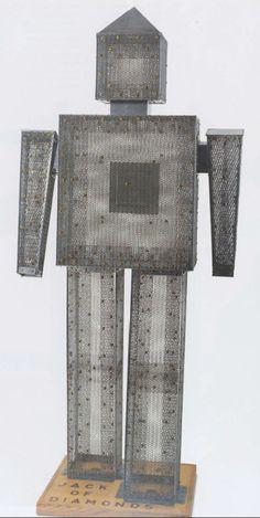 H. C. Westermann (1922–1981). Jack of Diamonds, 1981.