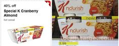 Target: JUST $1.29 each for Special K Nourish Cranberry Almond Hot Cereal (regular price is $2.99!) - http://www.couponaholic.net/2015/03/target-just-1-29-each-for-special-k-nourish-cranberry-almond-hot-cereal-regular-price-is-2-99/