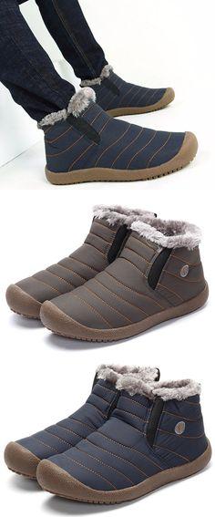 US$29.99 Warm Fur Lining Snow Boots