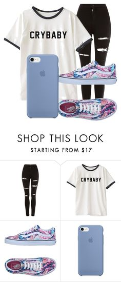 Cute by duda-souzaptu on Polyvore featuring moda, Topshop and Vans