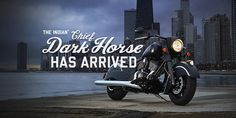 The 2016 Indian Dark Horse is here. Indian Dark Horse, Good Times Roll, Ride Or Die, Custom Bikes, Cover Photos, Indian Motorcycles, Horses, Photo And Video, Motors