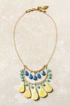 """""""Buckthorn Berry"""" necklace from Anthropologie."""