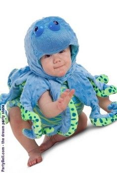 Ocean Octopus Infant / Toddler Costume  $29.50