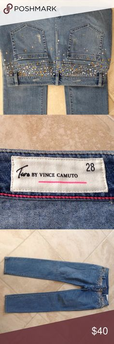 Two by Vince camuto jeans Brand new skinny leg jeans retail $129 Two by Vince Camuto Jeans Skinny
