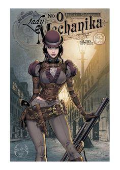 Joe Benitez's Lady Mechanika (in color)