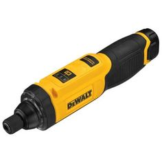 dewalt 8volt max lithiumion cordless gyroscopic screwdriver with battery 1ah 1hour charger and contractor bag