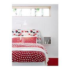 Pour la chambre à Juju. STENKLÖVER Housse de couette et taie(s) - Une place - IKEA
