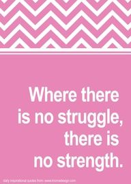 Love the struggle